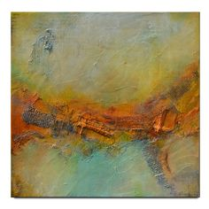 Abstract Painting Large Abstract Painting Textured by Andrada