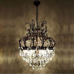 Kronleuchter Kristall 75cm Höhe Korbleuchter Deckenlampe Hängelampe Lampe  Neu | Lamps | Pinterest | Kronleuchter Kristalle, Deckenlampen Und  Kronleuchter