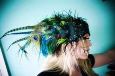 Kat Swank Custom Headband with Vintage by TheHouseOfKatSwank, $647.00