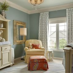 martha stewart paint river mist - Google zoeken Paint color for living room & dinning room