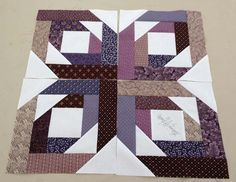 Pineapple Blossom blocks