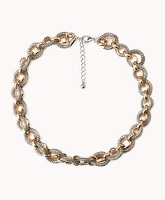 Oversized Rolo Chain Necklace | FOREVER21 - 1077876578