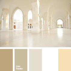 This palette combines very quiet and familiar tones but it attracts the eye by…