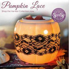 Pumpkin Lace warmer