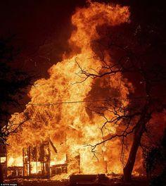 'Wall of fire' devastates California city, sweeping through Redding The Carr Fire burns a structure along Highway 299 in Shasta, California, on Thursday, July. Dojo, California City, Redding California, Northern California, California Quotes, Disneyland California, Nos4a2, Nate River, Connie Springer