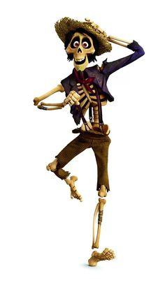 Hector is a character from the upcoming Disney/Pixar film, Coco. He is a Mexican trickster...
