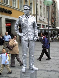 Living Statue How To