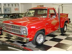 1979 Dodge D-150 Little Red Express Stepside Pickup Truck (Factory Performance Truck)