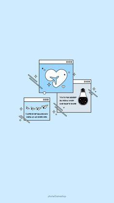 Blue Wallpaper Iphone, Cute Pastel Wallpaper, Soft Wallpaper, Aesthetic Pastel Wallpaper, Kawaii Wallpaper, Tumblr Wallpaper, Blue Wallpapers, Aesthetic Backgrounds, Cartoon Wallpaper