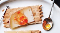 My fave: MARTHA's Pepper jelly makes a spicy-sweet match for soft cheeses, such as goat or Camembert (or even cream cheese) -- especially when served atop crackers or crostini. .