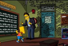 Lilja's Library - The World of Stephen King [1996 - 2014] King on The Simpsons (Treehouse of Horror XXIV)