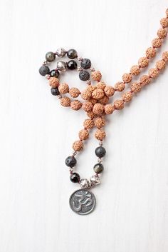 OM Mala Beads from Mala Collective