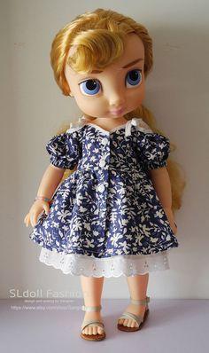 Disney Animator doll Clothes dress for Disney Animator by Sanglian