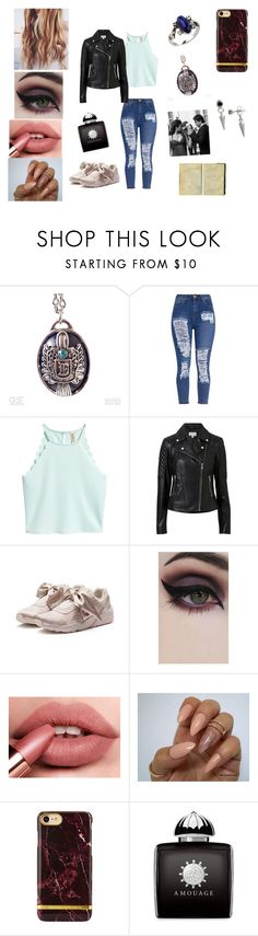 """""""Elena and Damons daughter // Elizabeth Salvatore♡"""" by bekahrosee ❤ liked on Polyvore featuring Witchery, Puma, Concrete Minerals, AMOUAGE and Biko"""