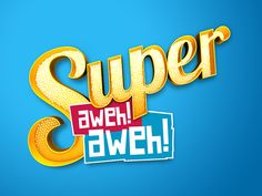 Super Aweh - MTC by Shawn van Eeden, via Behance