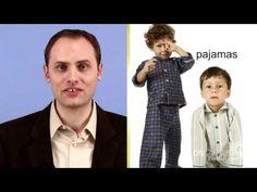ESL: English Vocabulary for Clothing video lesson  www.OnTargetEnglish.com