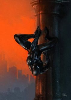 Spider Man pictures and jokes :: Marvel :: fandoms / funny pictures & best jokes: comics, images, video, humor, gif animation - i lol'd Spiderman Black Suit, Black Spiderman, Spiderman Art, Amazing Spiderman, Marvel Comics, Marvel Art, Marvel Heroes, Comic Books Art, Comic Art