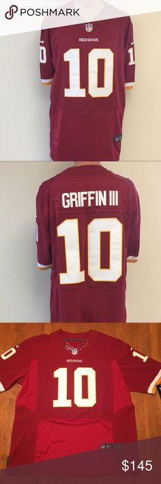 8c249940b NWT Nike Elite On Field NFL Limited Jersey Washington Redskins RG3 Nike  Elite On Field NFL Limited Jersey Officially Licensed NFL Nike Elite  Limited Jersey ...