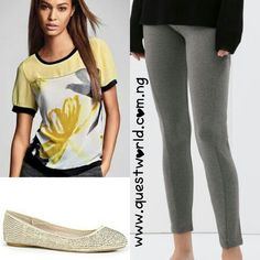 Unique Friday #top #trousers #shoes www.questworld.com.ng Nationwide Delivery. Pay on delivery (lagos) Visit us @suite b20 primal tek plaza akowonjo lagos