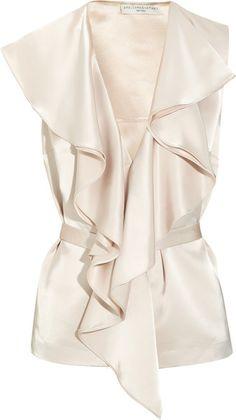 Stella Mccartney Rosella Satin Top. Gorgeous!