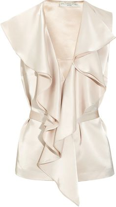 Stella Mccartney Rosella Satin Top. Gorgeous!