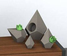 geometric planter - Google Search