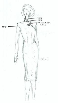 Cheongsam working drawing (1 of 1)