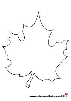16 Mejores Imágenes De Hojas Arboles Autumn Leaves Leaf Template