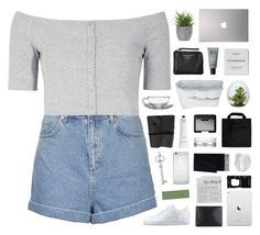 """""""i'm caught up in a dream"""" by moonlightxbby ❤ liked on Polyvore featuring Topshop, Glamorous, Samsung, Lux-Art Silks, Acne Studios, MAKE UP FOR EVER, Byredo, Frette, NARS Cosmetics and Rodin Olio Lusso"""