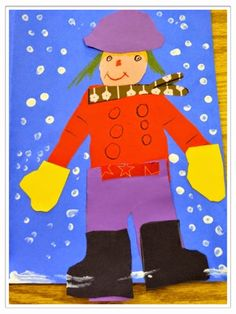 Snow Cool Frosty Fun Craftivity - Freebie