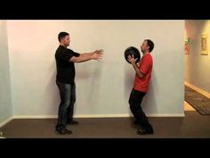 San Diego Wing Chun: Medicine Ball Structure Exercise - YouTube
