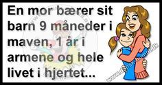 Dansk Humor - for dig med humor Cute Quotes, Words Quotes, Sayings, Danish Language, Baby Cards, Kids And Parenting, Inspire Me, Proverbs, Things To Think About