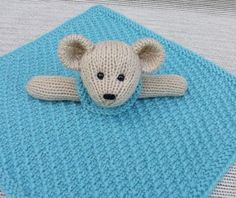 Knitting: Mini Lovey Blankie Menagerie - i will do this after christmas presents are done