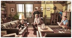 Archie is sitting out tonight's episode of Once Upon a Time, so I thought you might like this behind-the-scenes photo from last week's episode.