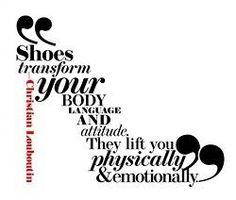 Cinderella is proof that a new pair of shoes can change your life...