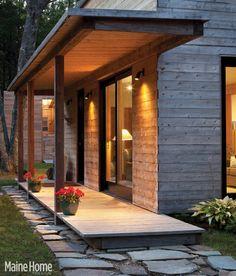Modern Porch Portico Design Ideas, Pictures, Remodel, and Decor ...