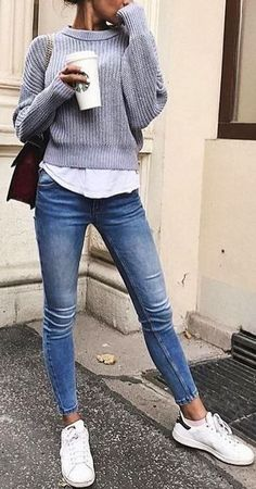 16 Trendy Autumn Street Style Outfits For 2018 Trendy street style outfits and o. - 16 Trendy Autumn Street Style Outfits For 2018 Trendy street style outfits and outfit ideas to step - Street Style Outfits, Mode Outfits, Street Outfit, Zendaya Street Style, Street Style Shoes, Preppy Fall Outfits, Fall Outfits 2018, Casual Outfits 2018, Casual Outfits For Winter