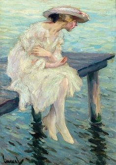 Woman at the Water...