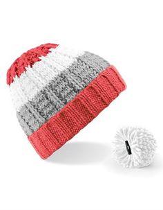 DIY - Besticke Deine Mütze mit einer persönlichen Message! Die Mütze bekommst Du natürlich bei smartvie! Z.B. eine Beanie Mütze Wintermütze mit abnehmbarem Bommel!