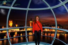 Check out my photo from the 4D Experience at the London Eye!