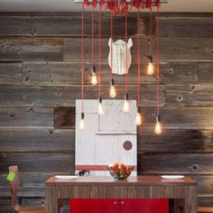 Reclaimed wood for interior wall