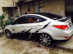 Cars Tuning Music: Hyundai Accent (10 фото)