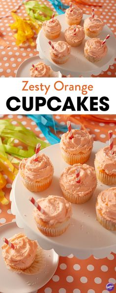 Fill your kitchen with the zesty smells of summer citrus with these Zesty Orange Cupcakes Recipe. Made using a simple white cake mix and the Color Right Performance Color System, these homemade cupcakes have a fun marbled design and are topped with a delicious homemade buttercream frosting. A tasty treat for bridal showers, birthday parties or just a sweet way to wrap up a summer BBQ, these light and refreshing orange cupcakes are quick, simple and easy to make.