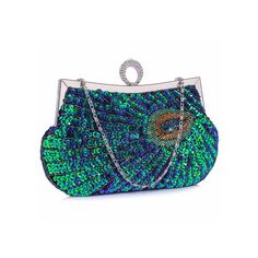 Long chain is also included so it can be used as a shoulder or hand held as clutch bag. Wholesale Bags, Wholesale Handbags, Clutch Purse, Coin Purse, Handbag Accessories, Fashion Accessories, Liberty Blue, Stylish Handbags, Feather Design