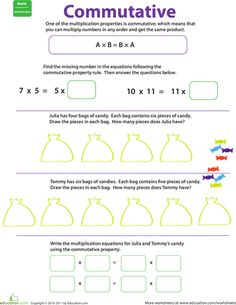 math worksheet : 1000 ideas about commutative property on pinterest  properties  : Properties Of Addition And Multiplication Worksheets