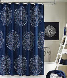 Trina Turk Costa Mesa Medallion Shower Curtain #Dillards