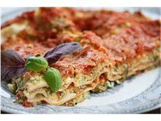 Courgette lasagne (recipe in Estonian)
