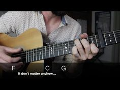 """Bob Dylan """"Dont think Twice, Its Alright"""" Folk Fingerstyle Guitar - FULL LESSON - YouTube"""