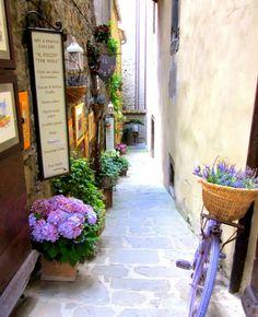 Cortona Tuscany, Italy.                                                                                                                                                      More