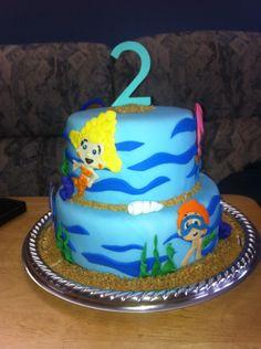 Bubble guppies cake!